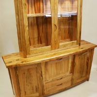 Cherry Sideboard and Display Cabinet